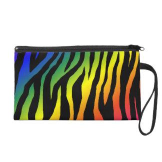 Estampado de zebra del arco iris