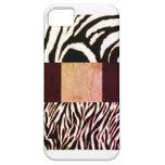 Estampado de zebra en abril DeeS iPhone 5 Case-Mate Cárcasas