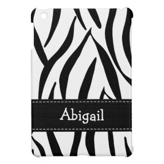 Estampado de zebra iPad mini fundas