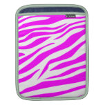 Estampado de zebra imponente funda para iPads