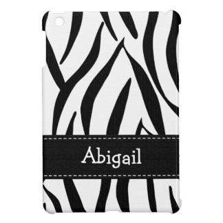 Estampado de zebra iPad mini fundas