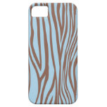 Estampado de zebra iPhone 5 Case-Mate cárcasa
