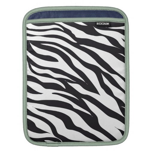 Estampado de zebra mangas de iPad