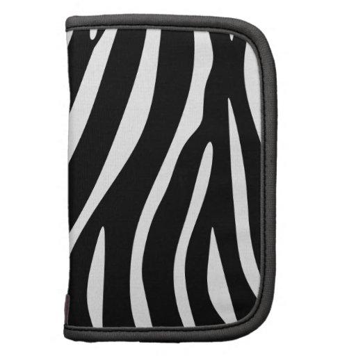 Estampado de zebra organizadores