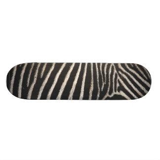 Estampado de zebra tablas de patinar