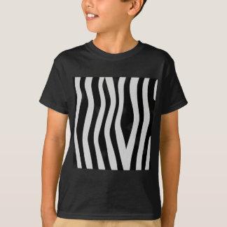 Estampado de zebra playera