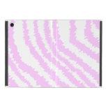 Estampado de zebra rosado, modelo animal iPad mini cárcasa