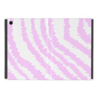 Estampado de zebra rosado, modelo animal iPad mini protectores