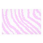 Estampado de zebra rosado, modelo animal papeleria de diseño