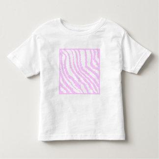 Estampado de zebra rosado, modelo animal playera de bebé