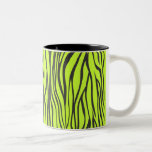 estampado de zebra taza
