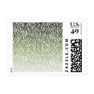 Estampado de zebra verde salvaje envio