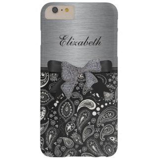 Estampado elegante en el caso brillante del iPhone Funda Para iPhone 6 Plus Barely There