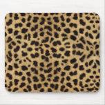 Estampado leopardo alfombrilla de raton