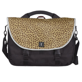 Estampado leopardo bolsas de portátil