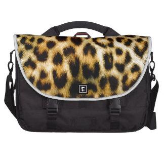 Estampado leopardo bolsas para portatil