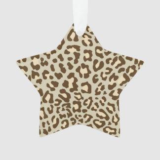 Estampado leopardo Brown, moreno, melocotón