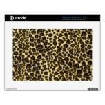 Estampado leopardo calcomanía para netbook