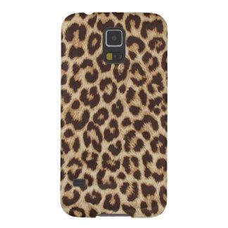 estampado leopardo carcasas para galaxy s5