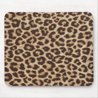 Estampado leopardo clásico Mousepad Alfombrilla De Raton