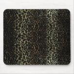 estampado leopardo, cojín de ratón alfombrillas de ratón