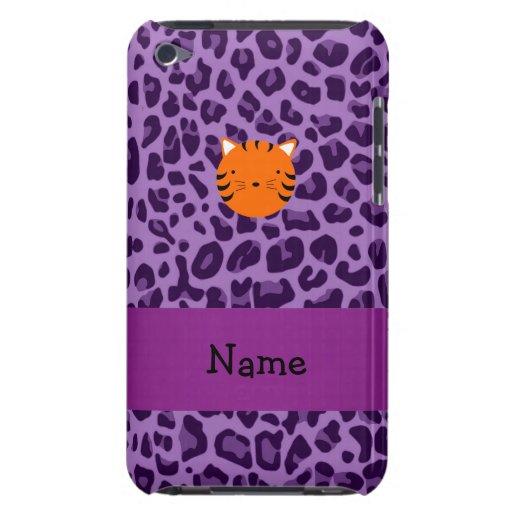 Estampado leopardo conocido personalizado de la Case-Mate iPod touch protector