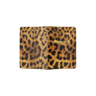 Estampado leopardo de Bautiful Porta Pasaportes