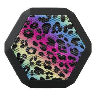 Estampado leopardo de Boombot REX/Rainbow Altavoces Bluetooth Negros Boombot REX