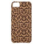 Estampado leopardo de Brown