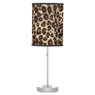 Estampado leopardo de Brown - elegante clásico Lámpara De Escritorio