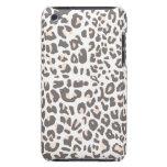 Estampado leopardo de la diversión iPod touch carcasas