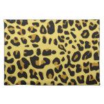 Estampado leopardo de la diversión mantel