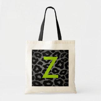 Estampado leopardo de la MOD Bolsa Tela Barata