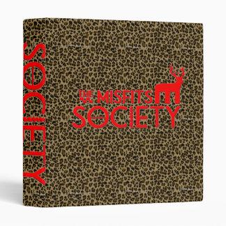 estampado leopardo de la sociedad de las cosas mal