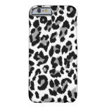 Estampado leopardo de PixDezines Funda Barely There iPhone 6
