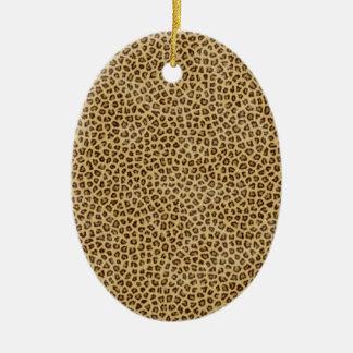 Estampado leopardo ornamento para reyes magos