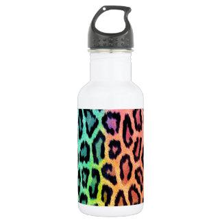 Estampado leopardo del teñido anudado