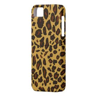 Estampado leopardo iPhone 5 carcasas