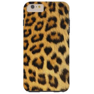 Estampado leopardo funda de iPhone 6 plus tough