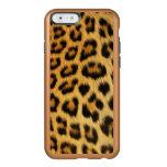 Estampado leopardo funda para iPhone 6 plus incipio feather shine