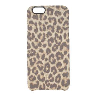 Estampado leopardo funda clearly™ deflector para iPhone 6 de uncommon