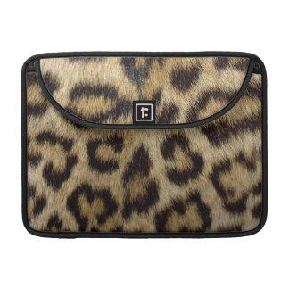 Estampado leopardo funda para macbook pro
