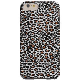 Estampado leopardo funda resistente iPhone 6 plus