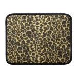 Estampado leopardo fundas MacBook
