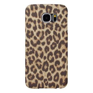 Estampado leopardo fundas samsung galaxy s6