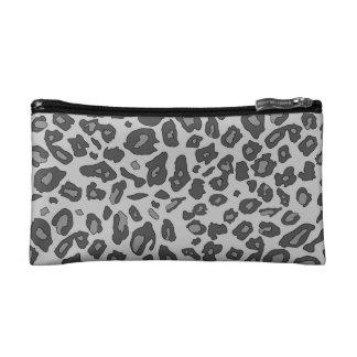 Estampado leopardo gris