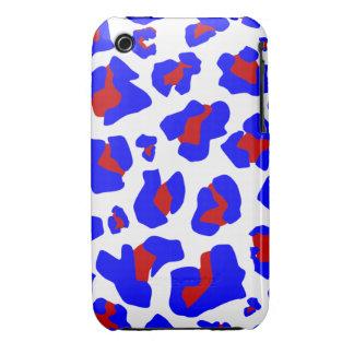 Estampado leopardo imponente - el mejor caso del i iPhone 3 Case-Mate fundas