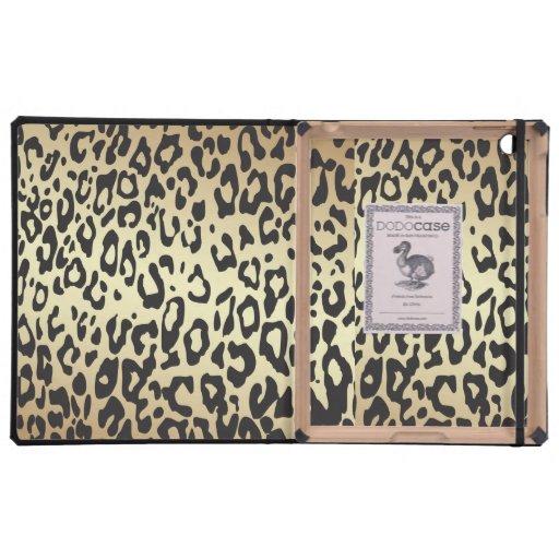 Estampado leopardo iPad coberturas