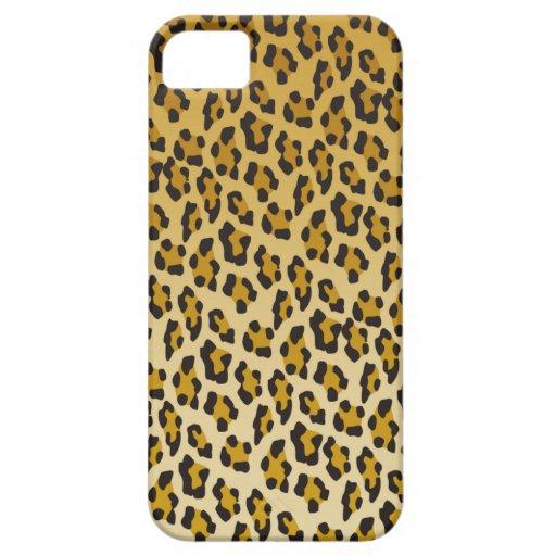 Estampado leopardo iPhone 5 fundas