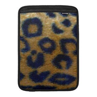 Estampado leopardo manchado salvaje funda  MacBook